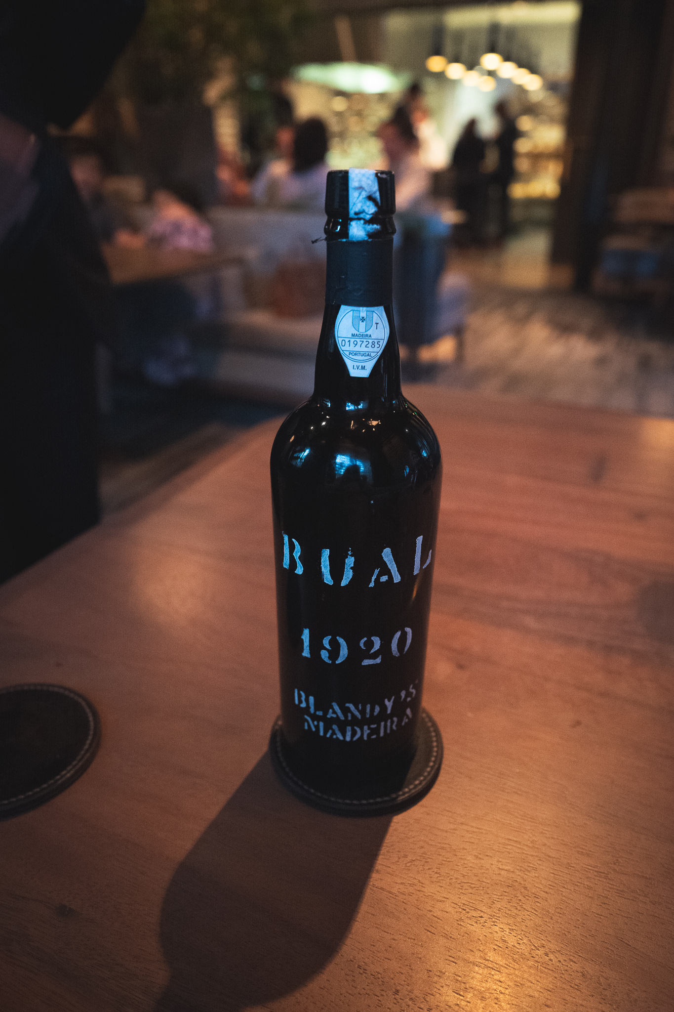 Blandy's Madeira from 1920