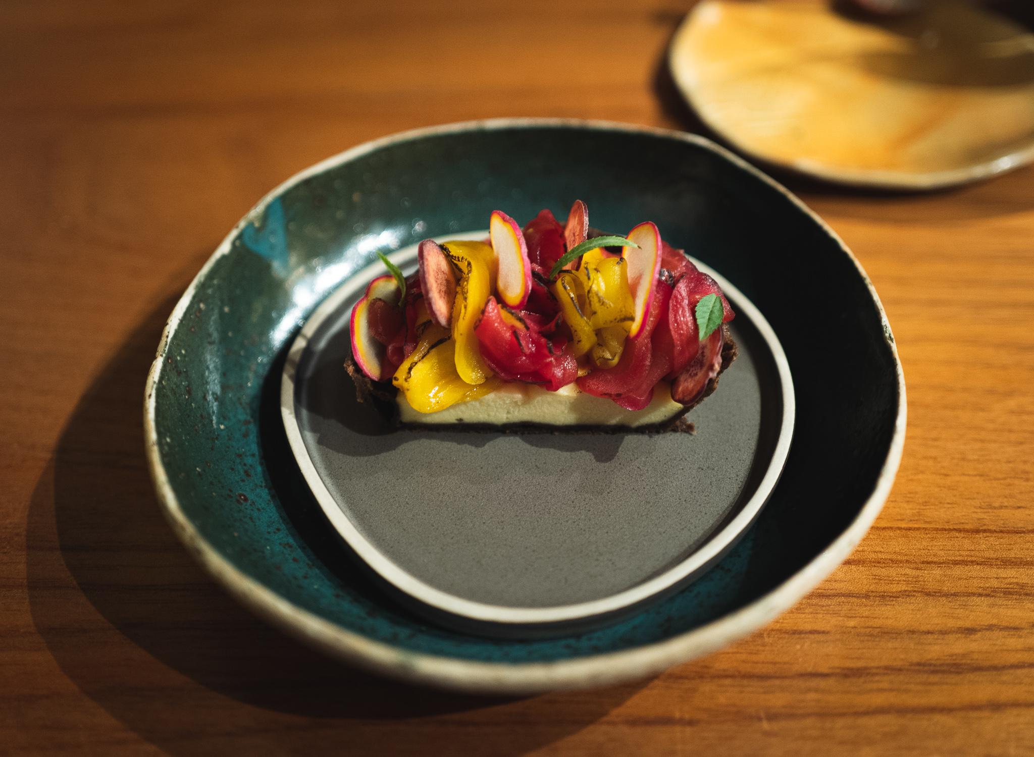 A potato tart from Kjolle